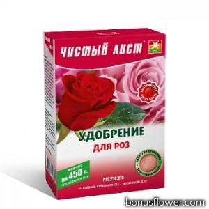 Удобрение «Чистый лист» для роз 300 г,  Kvitofor