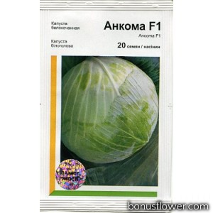 Капуста белокочанная Анкома F1