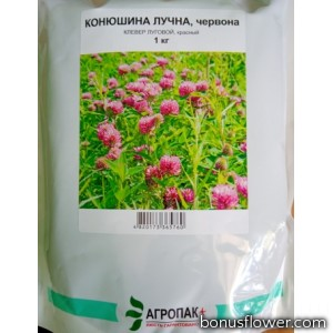 Семена клевера красного (Конюшина червона), 1 кг