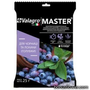 Удобрение Master для черники и голубики, 25 г, Valagro
