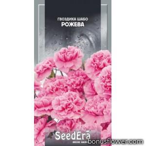 Гвоздика Шабо махровая розовая